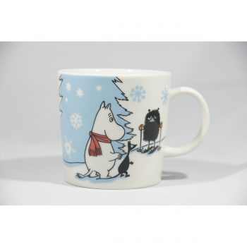 Moomin Mug Skiing Competition