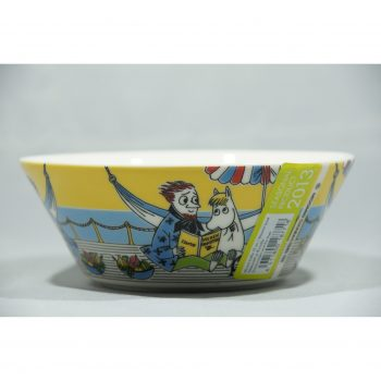 Moomin Bowl Snorkmaiden and the Poet