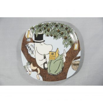 Moomin Wall Plate Back to the Nature