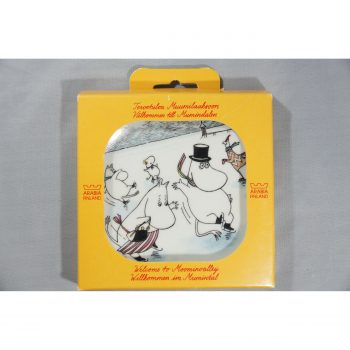 Moomin Wall Plate On Slippery Ice