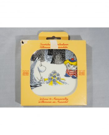 Moomin Wall Plate Magical Winter