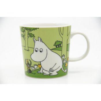 Moomin Mug Moomintroll grassgreen