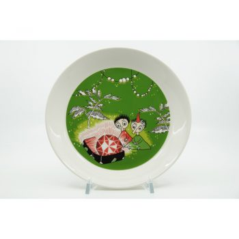 Moomin Plate Thingumy and Bob