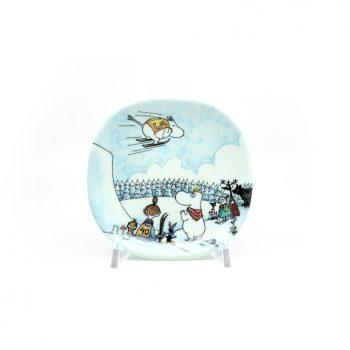 Moomin Wall Plate Skijump