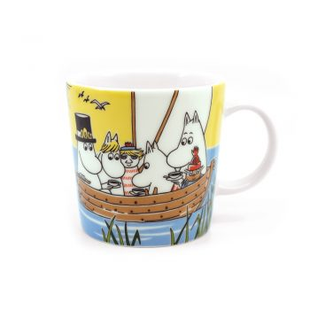 Moomin Mug Sailing with Nibling and Too-Ticky