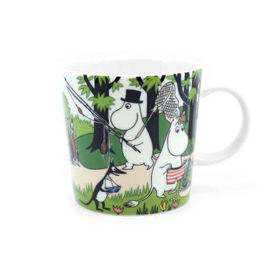 Moomin Mug Going on Vacation
