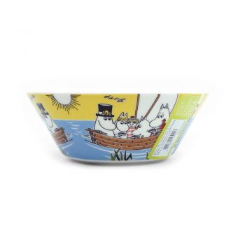 Moomin Bowl Sailing with Nibling and Too-Ticky