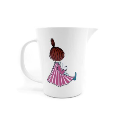 Moomin Pitcher Party Time, scale with numbers