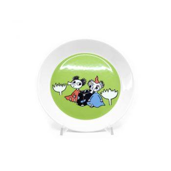 Moomin Plate Thingumy and Bob, 2-sided