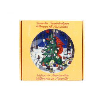 ムーミンウォールプレート Christmas