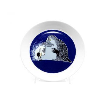 Moomin Plate Groke