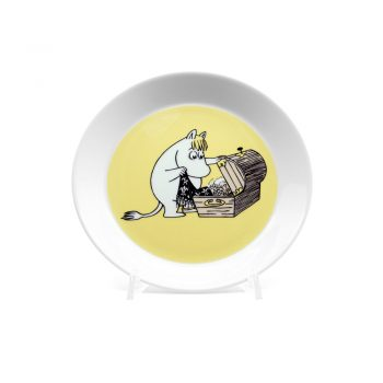 Moomin Plate Snorkmaiden, 2-sided