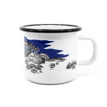 Moomin Mug Muurla Island dark blue