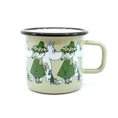 Moomin Mug Muurla Friends Green