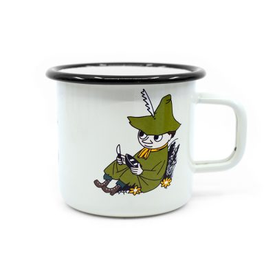 Moomin Mug Muurla Retro Snufkin Cream
