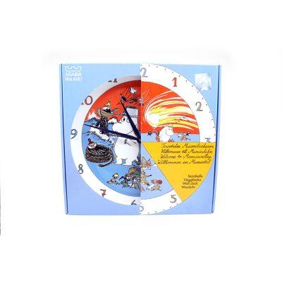 Muumi-seinäkello Muumipeikko ja pyrstötähti