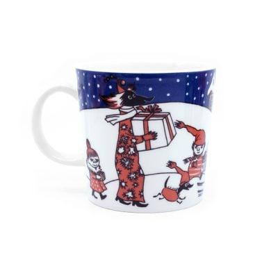 Moomin Mug Christmas Greeting