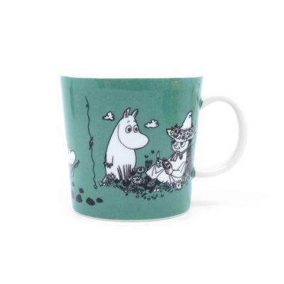 Moomin Mug Dark Green