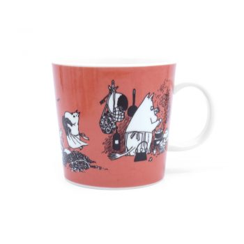 Moomin Mug Dark Rosa